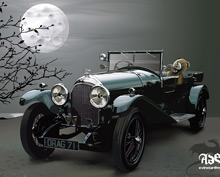 Realistic of Antique Car
