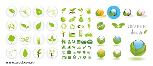 4 sets of the green icon