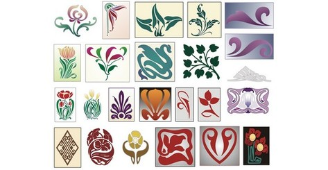 Marquetry Pattern