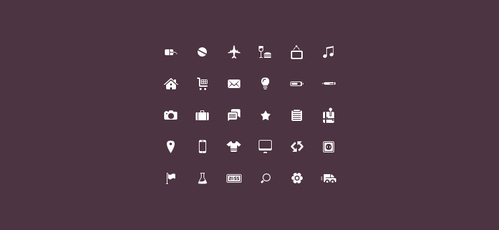 Plain Icon Set