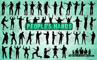 45 People With Hands