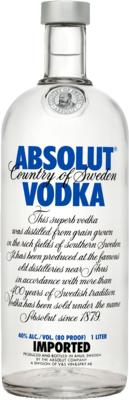 Absolut Vodka Bottle (CLEAN) PSD
