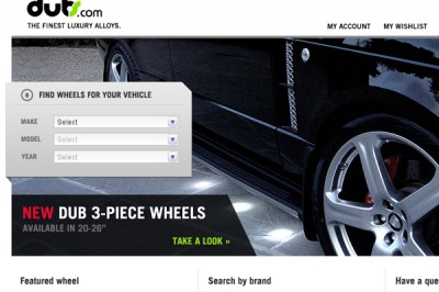 Product Website Layout
