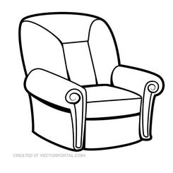 SEAT CHAIR VECTOR GRAPHICS.eps
