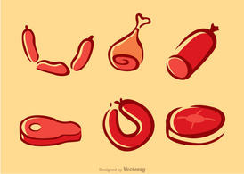Meats Vectors Pack