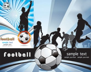 Graphisme Vectoriel Stock D Illustrations Football Joueurs Vecteur