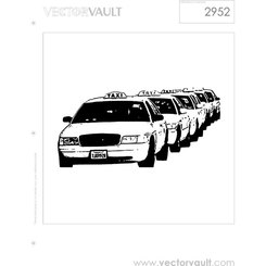 TAXI CARS VECTOR IMAGE.eps