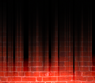 red brick wall with grunge shadow PSD