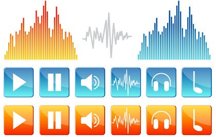Free Music&Sound Vector Icons