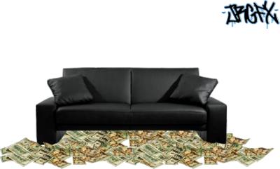 Money Couch PSD