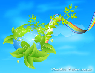 Eco Earth Background