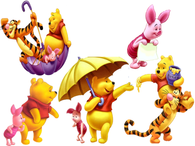 Winnie The Pooh Collection 1 PSD