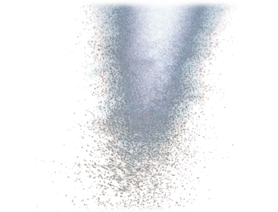 Water Particles PSD