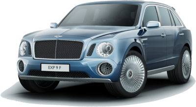 Bentley Truck PSD