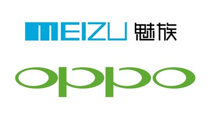 OPPO and the Meizu Vector LOGO