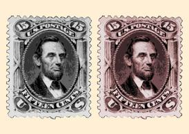 Lincoln Stamps
