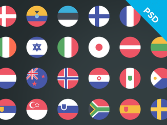 Country flags - Retail Loyalty Congress 2015