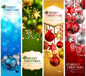 Beautiful Christmas theme elements vector-12