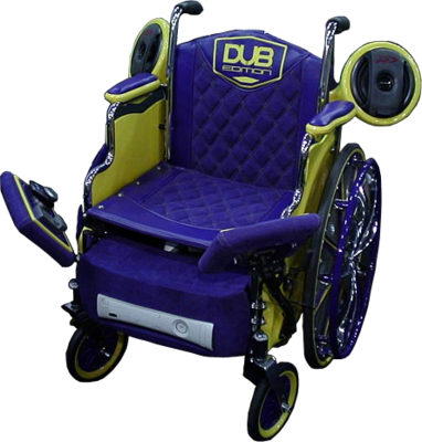 Pimped out Wheelchair PSD