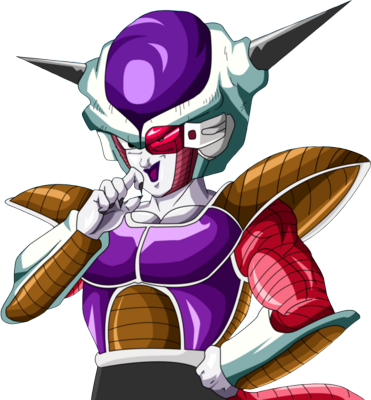 Dragon Ball Z Frieza First Form PSD