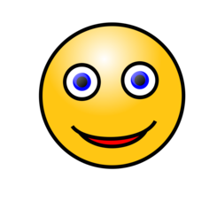 Emoticons: Smiling face