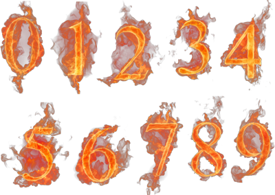 Flaming Numbers PSD