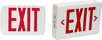Exit sign PSD