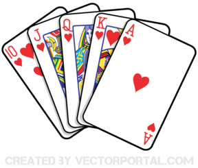 Free Playing Cards Vector Art Vector Illustration