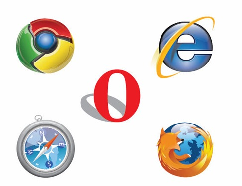 Free IE Chrome Firefox Safari Opera Logo