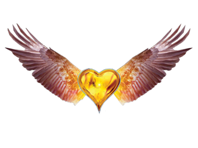 Heart With Wings PSD