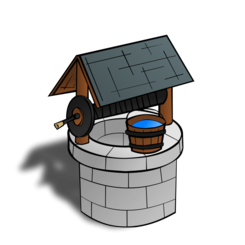 RPG map symbols: Wishing Well