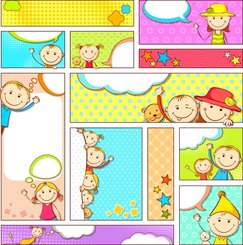 Cartoon Illustrator Bannervector