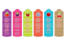 Berry Bookmarks