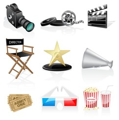 movie icon vector 2