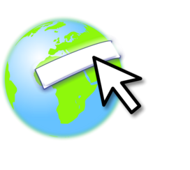 Earth with mouse