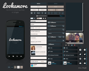 Lookamore UI Kit