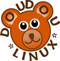 DoudouLinux Logo - Operating System fun and accessible for kids from 2 to 12 years old