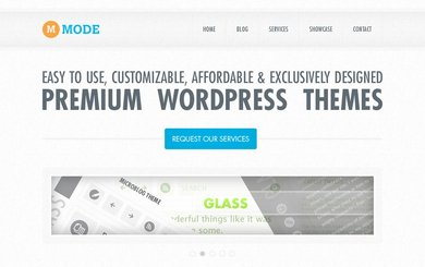 Mode Free PSD Template