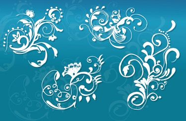 Free Vector: Hand Drawn Floral Patterns