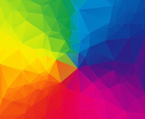 Abstract Colorful Vector Graphic Art