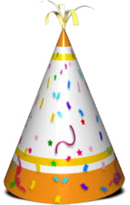 Party Hat PSD