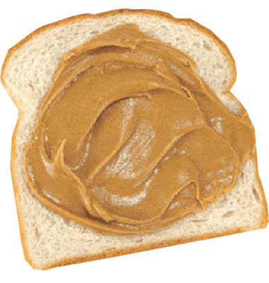 Peanut Butter On Bread PSD