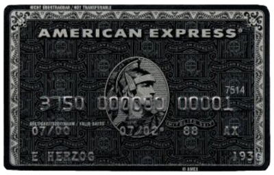 Black Card - American Express PSD