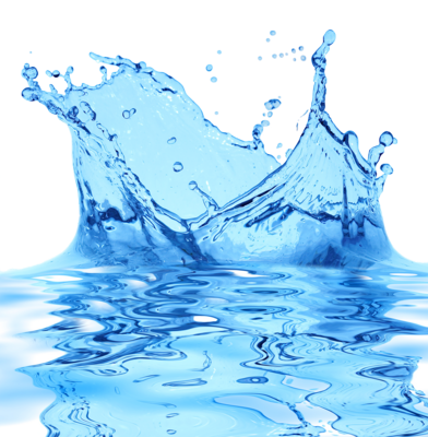 Transparent Water Drop - Splash PSD