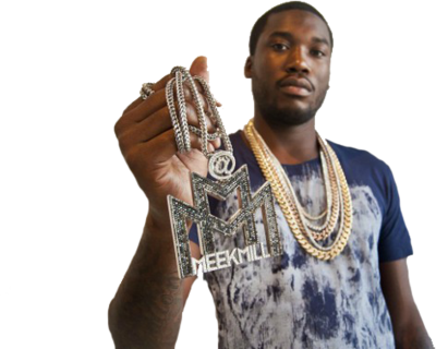Meek Mill With Chain PSD