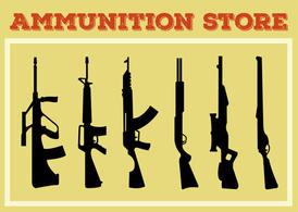 Weapon and Gun Shape Collection