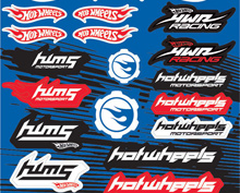 Auto sticker hotwheels
