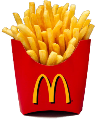 MacDonalds French Fries PSD