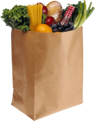 free grocery bag full psd vector graphic vectorhq com