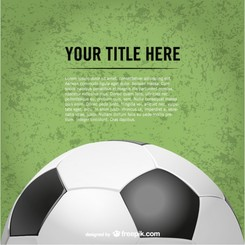 Soccer vector free for download